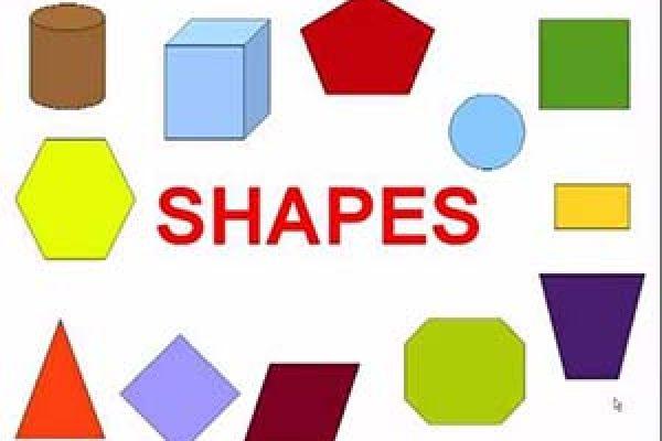 геометрические фигуры на английском языке