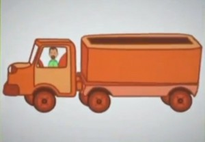 an empty lorry