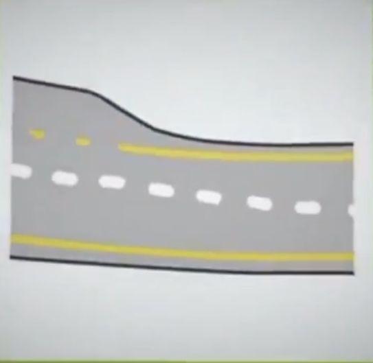 repared road