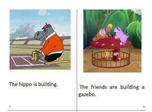 скачать заготовку детской книжки на английском