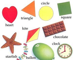 геометрические фигуры на английском