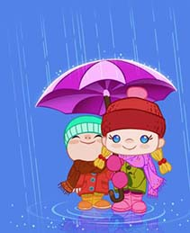 дождь по-английски