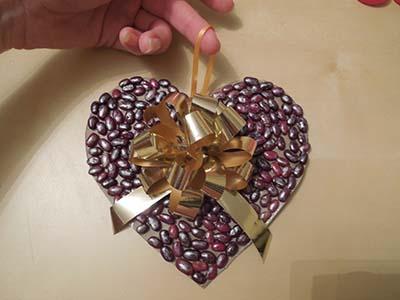 Поделка сердце на английском языке. Шаг 8