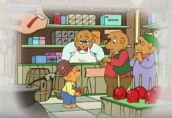 "Berenstain Bears ""Get the Gimmies"" - Daddy Bear"