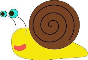 slowly slowly very slowly creeps the garden snail