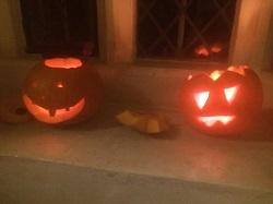 Хэллоуин -фонари из тыквы